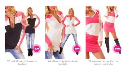Magyar készítésű, egyedi és limitált női ruhák a SYL-től! Fiatalos és vagány, szexi vagy sportos, a SYL-nél mindenki megtalálja a hozzá illő stílust. A SYL ruhákat korlátozott mennyiségben készítjük, így a legjobb darabok gyorsan elfogynak webáruházunk kínálatából.